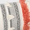 Tufted Multi Fringe Oversized Lumbar Pillow Cream  - Opalhouse™ - image 3 of 4