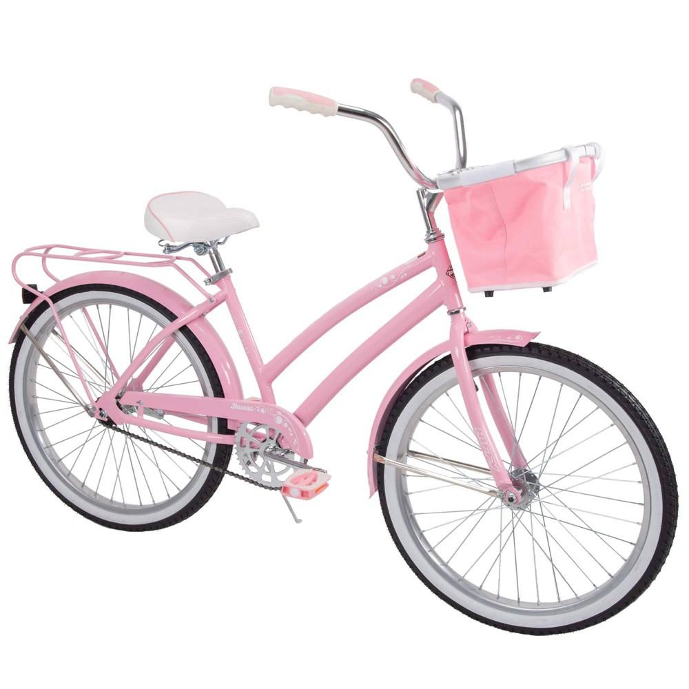 Huffy Nassau 24 Kids Cruiser Bike - Pink