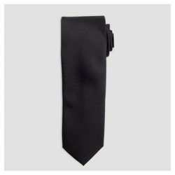 Men's Satin Skinny Formal Tie - Goodfellow & Co™ Black One Size