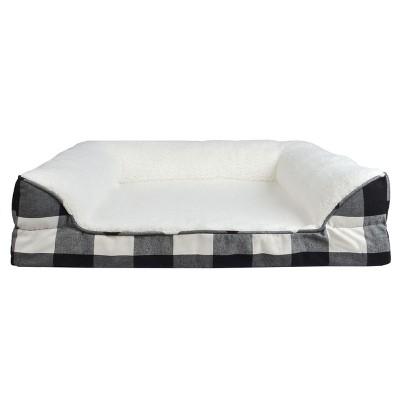 Modern Slanted Dog Bed - M - Boots & Barkley™