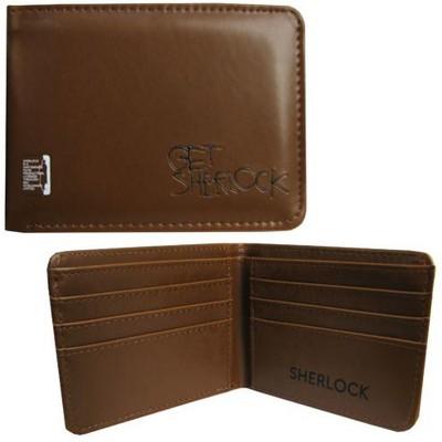 Seven20 Sherlock Holmes Men's Bi-Fold Wallet: Get Sherlock (Brown)