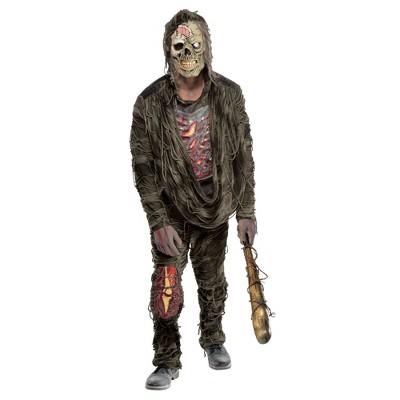 Adult Zombie Creeper Halloween Costume One Size