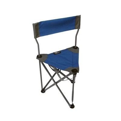 TravelChair Ultimate Slacker 2.0 Portable Outdoor Folding Stool Seat, Blue