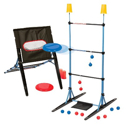 Eastpoint Majik 3-in-1 Ladderball/Disc Toss/Target Toss Set
