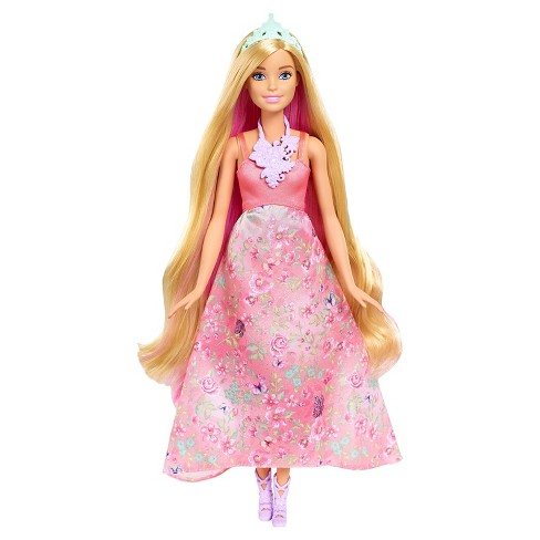 Barbie Dreamtopia Color Stylin\' Princess Doll - Pink : Target