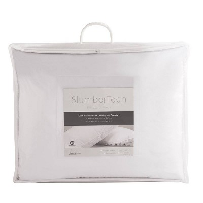 SlumberTech MicronOne Allergen Barrier Cover Queen Pillow 2pk