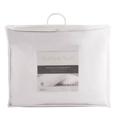 Hypoallergenic Allergen Barrier Pillow 2pk - image 1 of 4