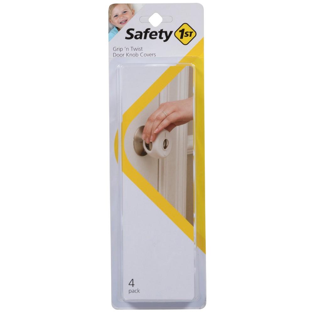 Safety 1st Grip n' Twist Door Knob Covers - 4pk, White