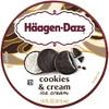 Haagen-Dazs Cookies & Cream Ice Cream - 14oz - image 2 of 4