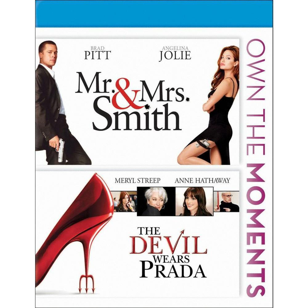 Mr. and Mrs. Smith/The Devil Wears Prada [Blu-ray] Mr. and Mrs. Smith/The Devil Wears Prada [Blu-ray]