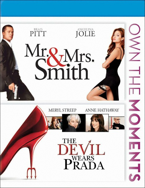 Mr. and Mrs. Smith/The Devil Wears Prada [Blu-ray] - image 1 of 1