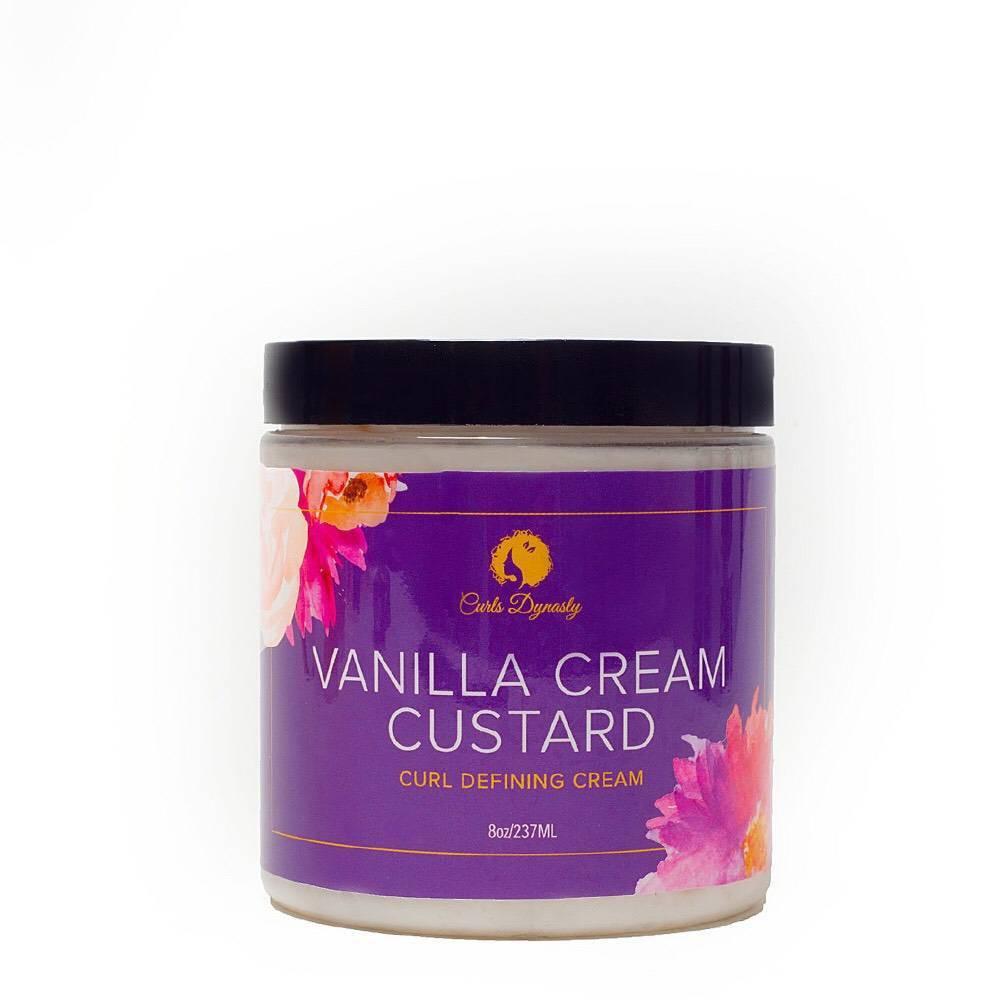 Image of Curls Dynasty Vanilla Cream Custard - 8oz
