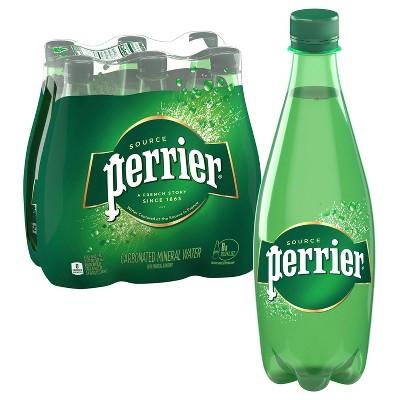 Perrier Carbonated Mineral Water - 6pk/16.9 fl oz Bottles