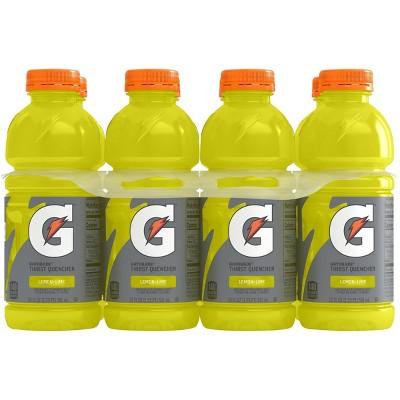 Gatorade Lemon Lime Sports Drink - 8pk/20 fl oz Bottles