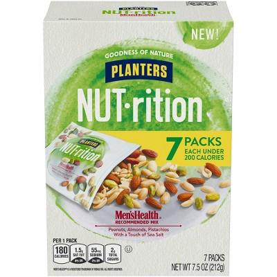 Planters Nut-Rition Men's Health Mix - 7ct
