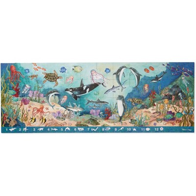 Melissa & Doug® Search and Find Beneath the Waves Floor Puzzle (48pc, over 4 feet long)