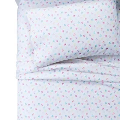 Hearts 100% Cotton Sheet Set (Twin)- Pillowfort™