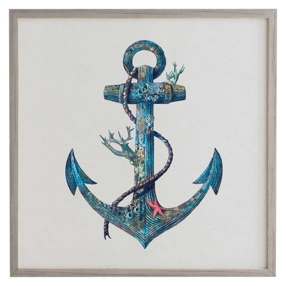 Terry Fan Lost At Sea Framed Wall Art (20