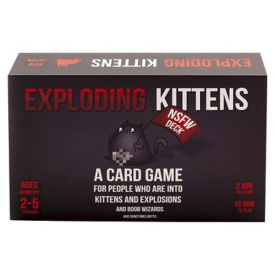 Exploding Kittens NSFW (Adults Only)Game