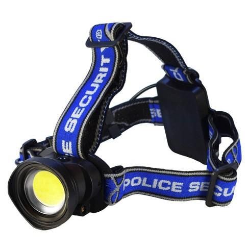 Police Security Breakout LED Headlamp Black - image 1 of 4