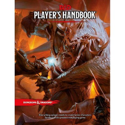 Dungeons & Dragons Player's Handbook (Core Rulebook, D&d Roleplaying Game)- (Hardcover)