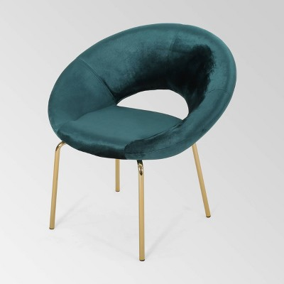 Pincay Modern Glam Velvet Accent Chair - Christopher Knight Home