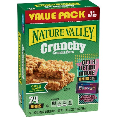 Nature Valley Crunchy Oats 'N Honey Granola Bars - 12ct
