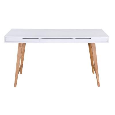 Giselle Writing Desk White - Adore Decor