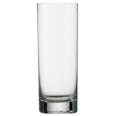 Stolzle Lausitz Feast It Forward Crystal 15.25 Ounce NY Bar Highball Glass, Set of 4