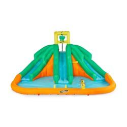 Kahuna 90732 Triple Monster Inflatable Backyard Outdoor Kid Water Slide Park