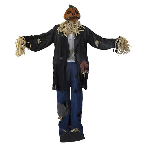 5ft Halloween Standing Scarecrow Man - image 1 of 3