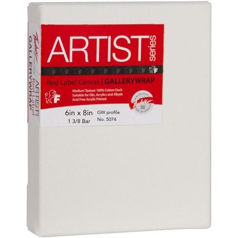 Fredrix Gallerywrap Stretched Canvas, 6 x 8 in