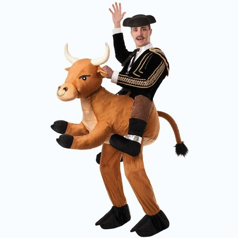 Forum Novelties Ride a Bull Brown Animal Adult Male Costume One Size - image 1 of 1