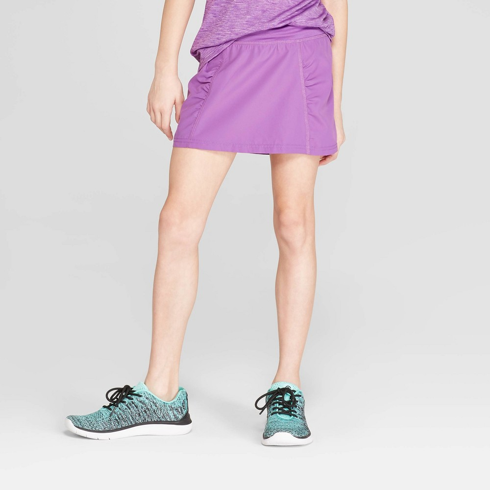 Image of Girls' Woven Skort - C9 Champion Purple XS, Girl's
