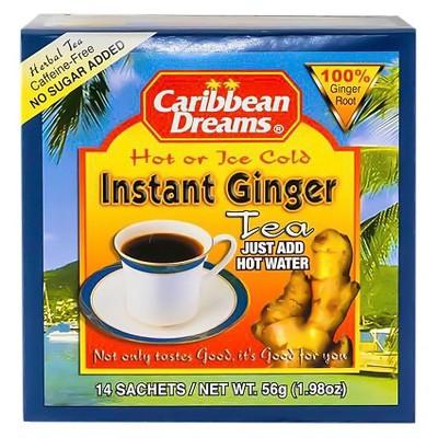 Caribbean Dreams Instant Ginger Tea - 1.98oz