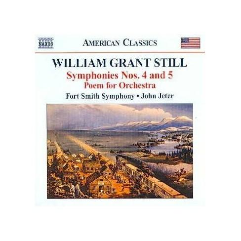 Still, William Grant; John Jeter; Meissonnier, Martin - Still: Symphonies Nos 4 & 5, Poem for Orchestra - image 1 of 1