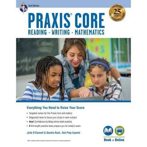 Praxis Core Academic Skills for Educators, 2nd Ed.: Reading (5712), Writing (5722), Mathematics (5732) - image 1 of 1