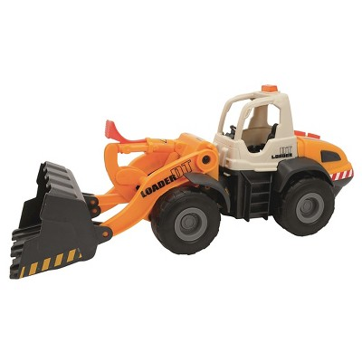 Dickie Toys - Light and Sound Construction Front Loader Vehicle
