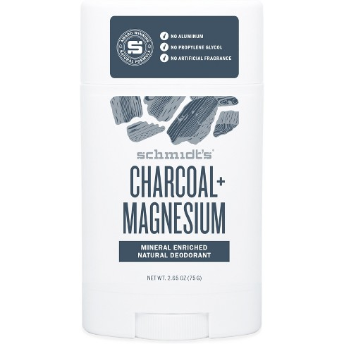 Schmidt's Charcoal and Magnesium Natural Deodorant - 2.65oz - image 1 of 1