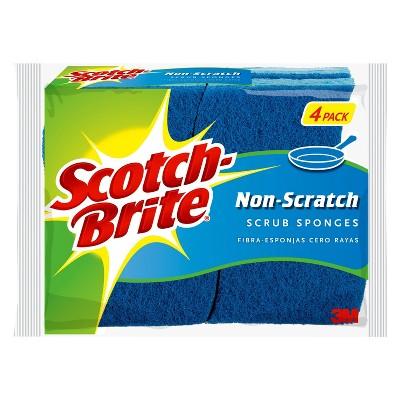 Scotch-Brite 4pk Multi-Purpose Scrub Sponge