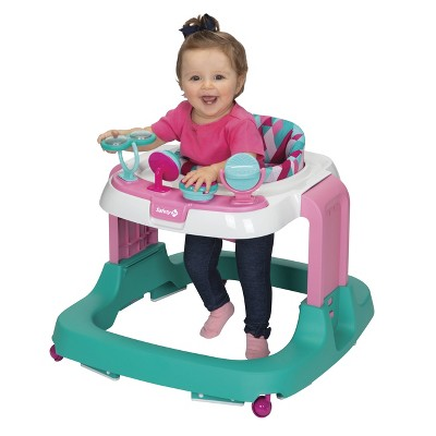 Safety 1st Ready, Set, Walk! DX Developmental Walker - Pink