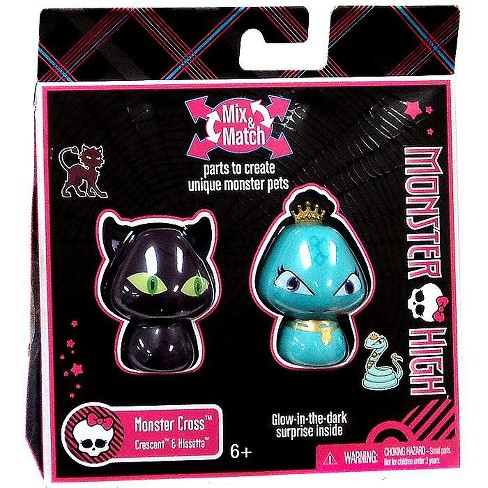 Monster High Monster Cross Crescent and Hissette Figure 2-Pack - image 1 of 2