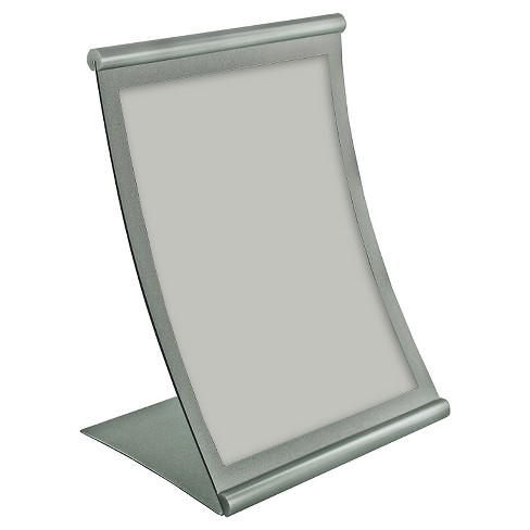 "Azar® 8.5"" x 14"" Curved Metal Frame Sign Holder - image 1 of 1"