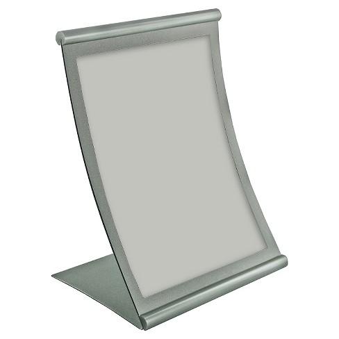"""Azar 8.5"""" x 14"""" Curved Metal Frame Sign Holder - image 1 of 1"""