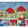 Big Top Circus Animals Giant Wallpaper Accent Mural - Roommates.. - image 2 of 2