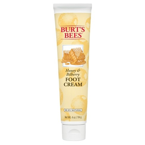 Burt's Bees Foot Cream - Honey and Bilberry - 4 oz - image 1 of 2