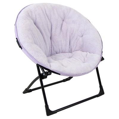 Fuzzy Kids Saucer Chair - Violet Villa - Pillowfort™