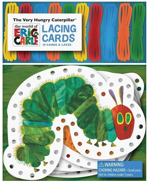 Very Hungry Caterpillar Lacing Cards (Paperback) (Eric Carle) - image 1 of 1