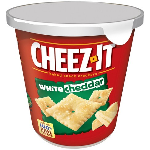 Cheez-It White Cheddar Baked Snack Crackers Mini Cup - 2.2oz - image 1 of 3