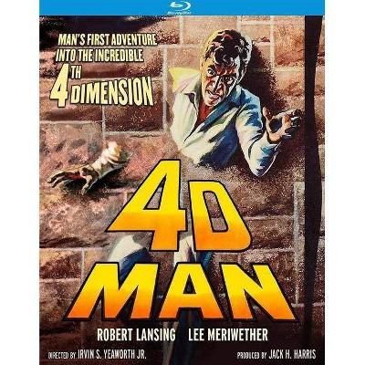 4-D Man (Blu-ray)(2019)